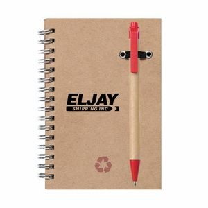 Recycled Notebook/Pen Combo - 5